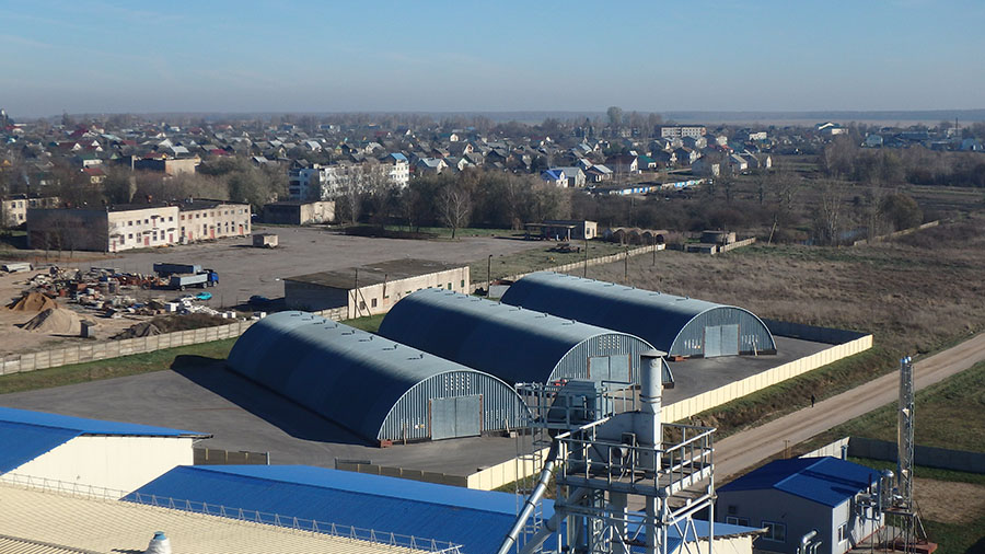 Комплекс зданий для производства продукции