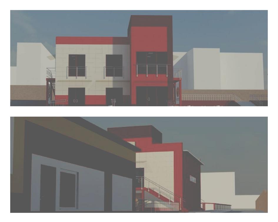Фасад центра поддержки предпринимательства