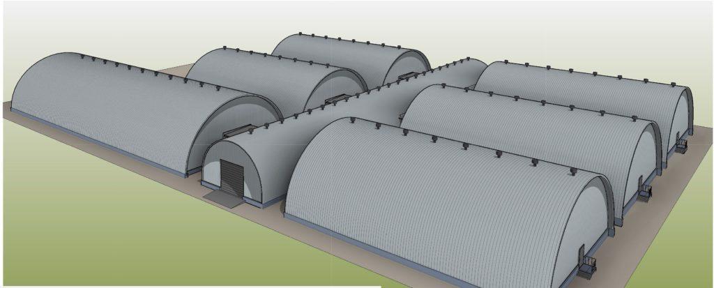 Комплекс зданий фермерского хозяйства