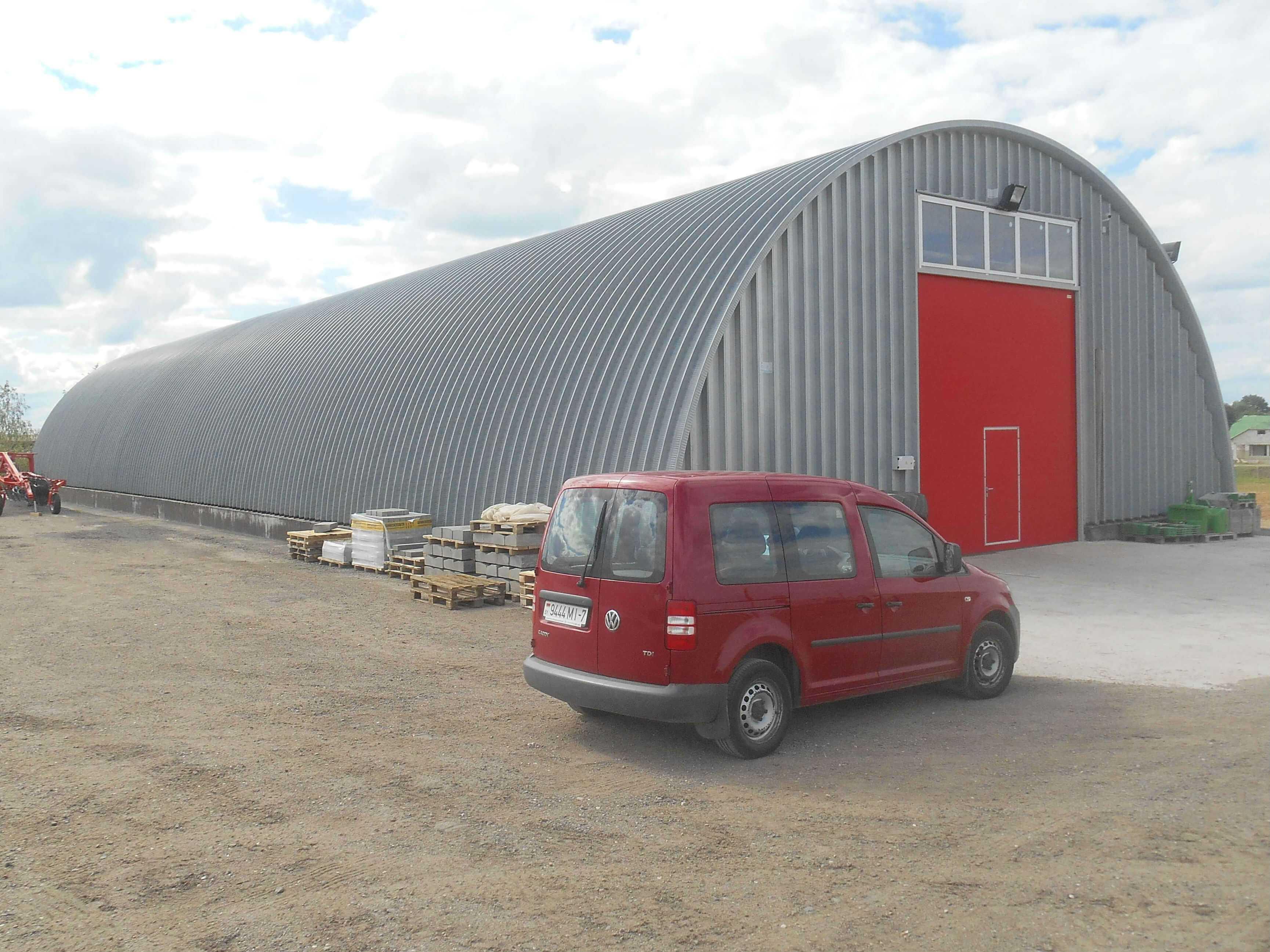 строительство арочных складов