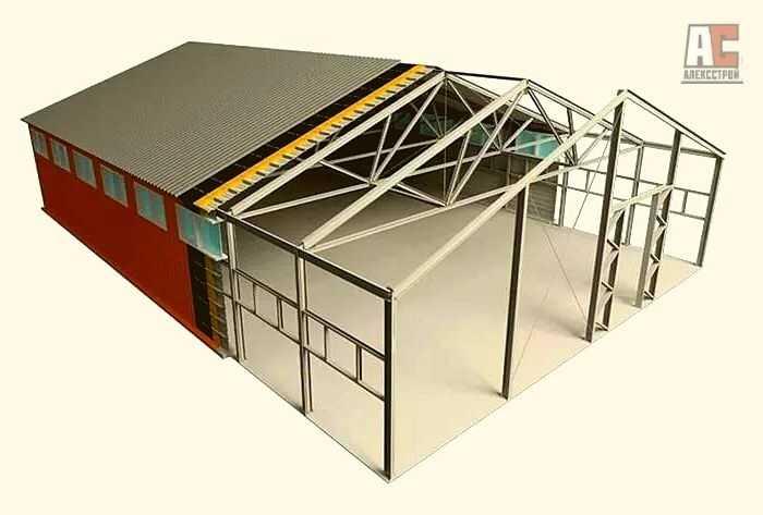 Строительство складов - Фото 2
