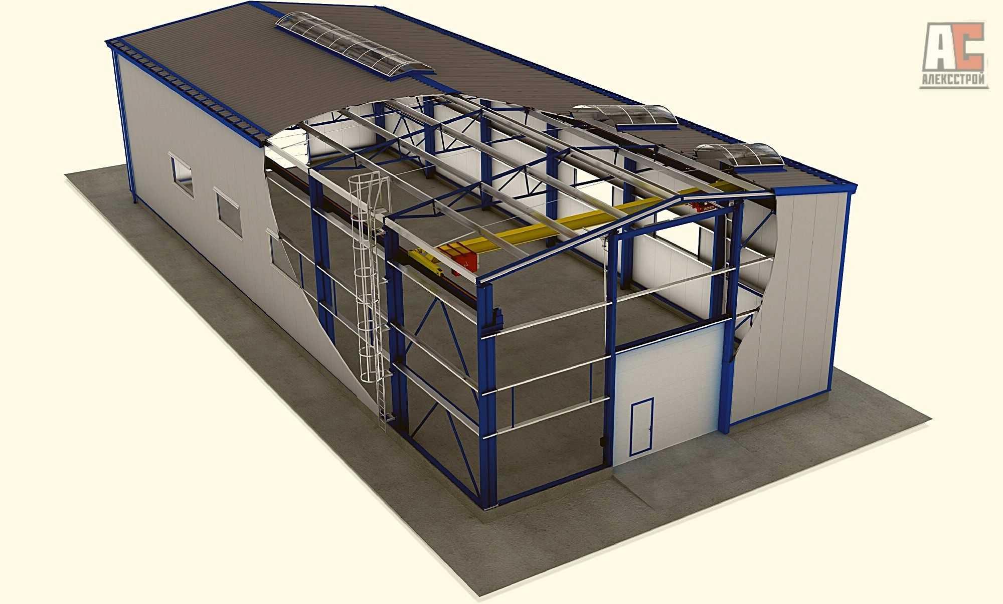 Строительство складов - Фото 3